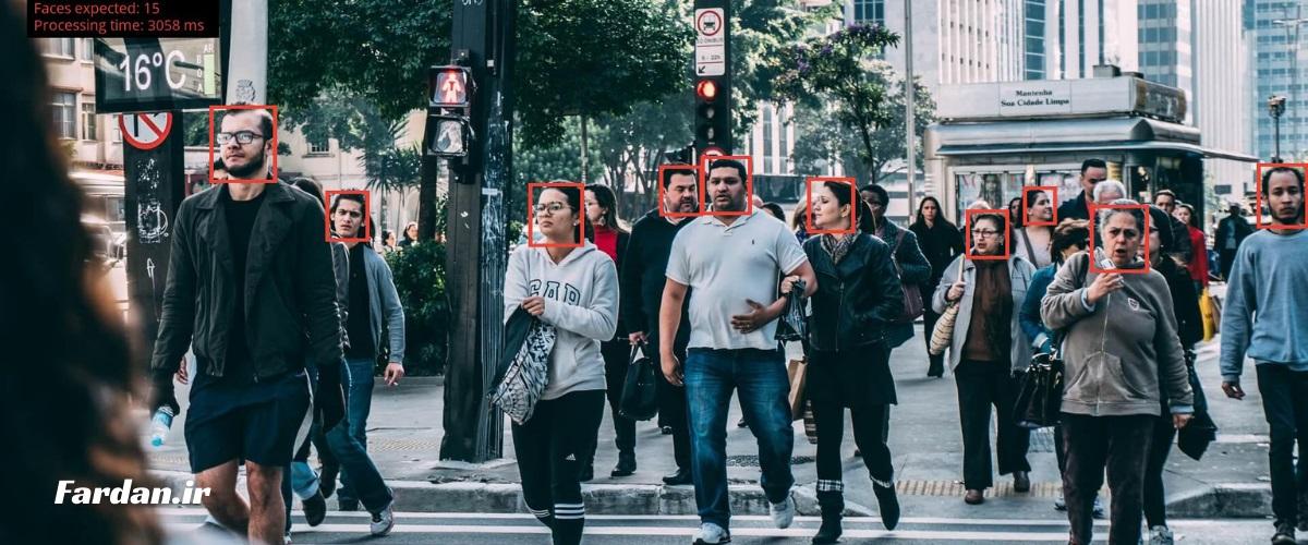 تشخیص چهره در خیابان