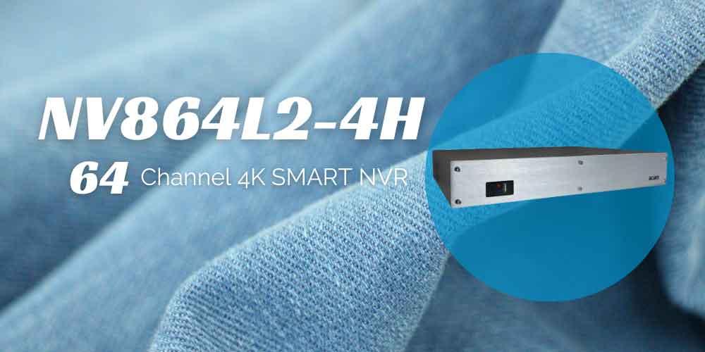 دستگاه ضبط کننده acam NV864L2-4H